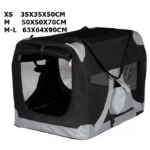TRIXIE Táska És Sátor Xs-S 35x35x50cm Fekete Szürke d60c4298ac