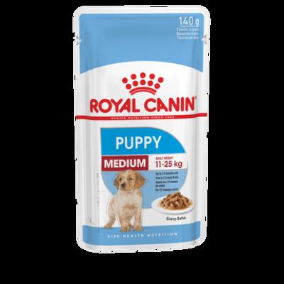 Royal Canin SHN WET MEDIUM PUPPY (10*140g)