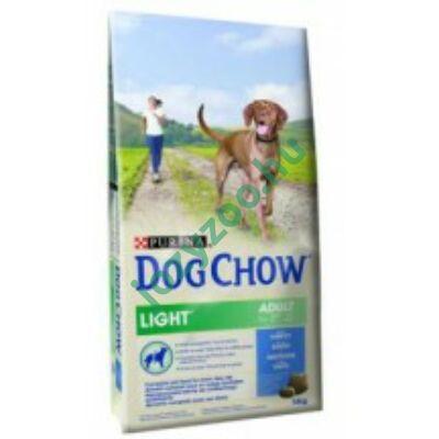 Dog Chow Light pulyka + rizs 14kg