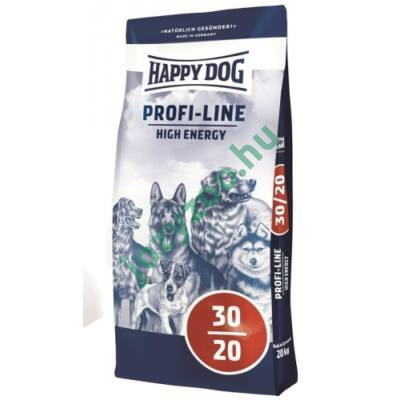 HAPPY DOG PROFI-KROKETTE HIGH ENERGY 30/20 20KG