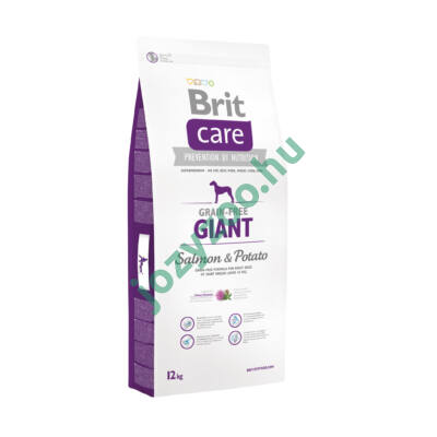 BRIT CARE GIANT GRAIN FREE SALMON&POTATO 12KG