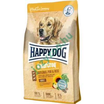 HAPPY DOG NATUR-CROQ GEFLÜGEL & REIS 15KG
