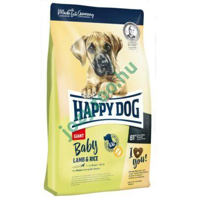 HAPPY DOG BABY GIANT LAMM/REIS 15KG