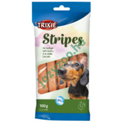 TRIXIE Jutalomfalat Stripes Baromfis 10db/100gr