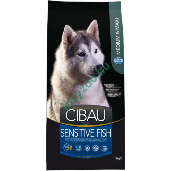 CIBAU SENSITIVE FISH MEDIUM/MAXI 12KG