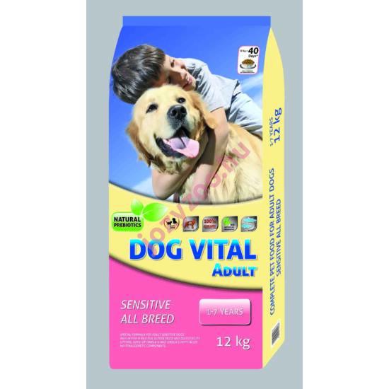 Dog Vital Adult Sensitive Mini Breeds Fish 12kg