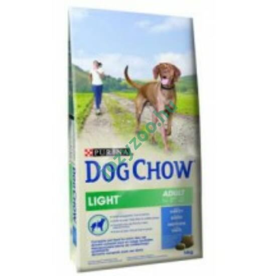 Dog Chow Light pulyka + rizs 14kg