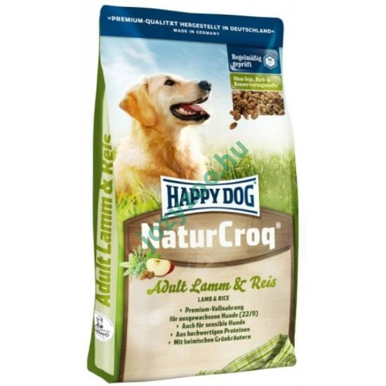 HAPPY DOG NATUR-CROQ LAMM/REIS 15KG