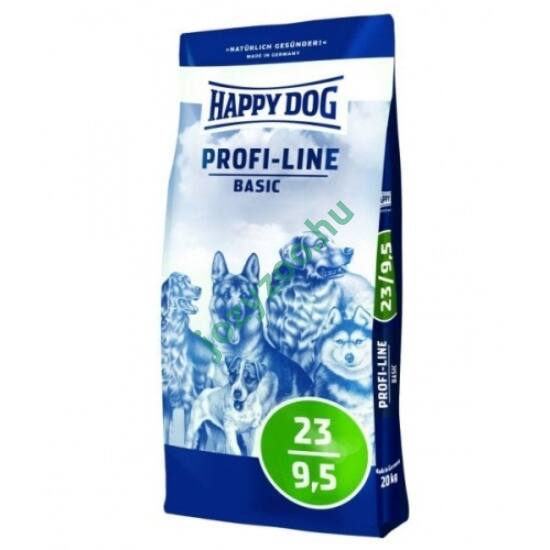 HAPPY DOG PROFI-KROKETTE BASIC 23/9,5 20KG