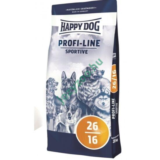 HAPPY DOG PROFI-KROKETTE SPORTIVE 26/16 20KG