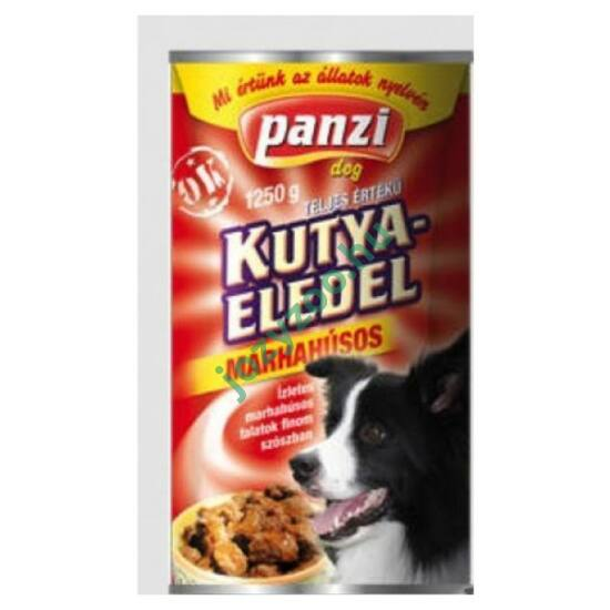PANZI DOG: PANZI KONZERV MARHAHÚSOS 415G