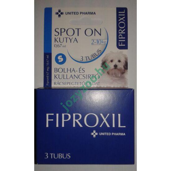 FIPROXIL SPOT-ON KUTYA S 3x0,67ML