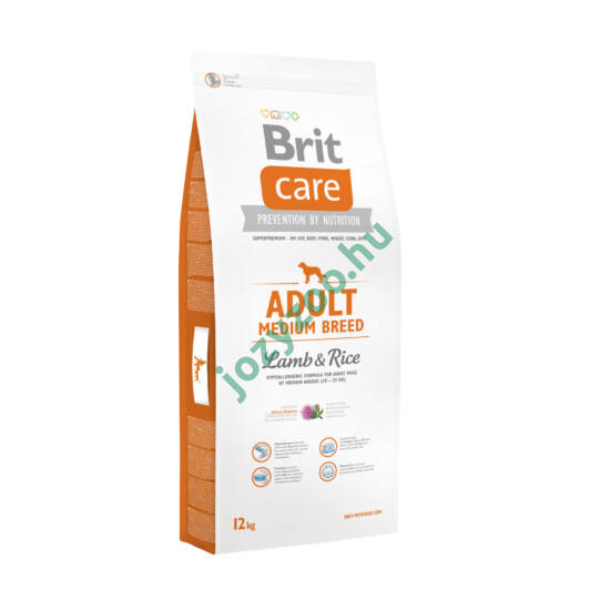 BRIT CARE ADULT MEDIUM 12KG