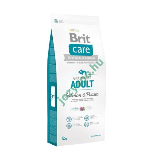BRIT CARE ADULT GRAIN FREE SALMON&POTATO 3KG