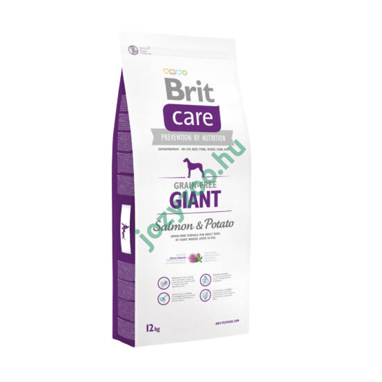 BRIT CARE GIANT GRAIN FREE SALMON&POTATO 12KG