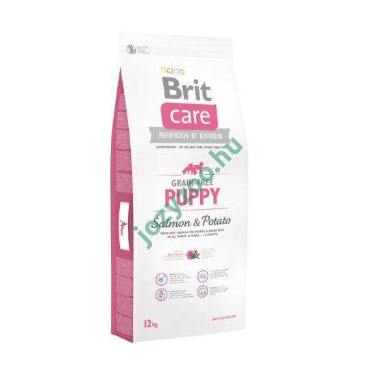 BRIT CARE PUPPY GRAIN FREE SALMON&POTATO 3KG
