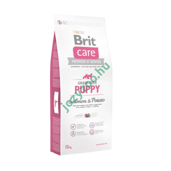 BRIT CARE PUPPY GRAIN FREE SALMON&POTATO 3KG