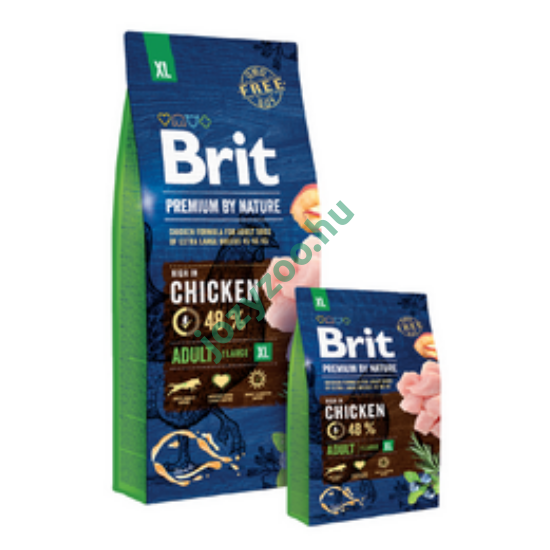BRIT PREMIUM BY NATURE  EXTRA LARGE ADULT 3KG
