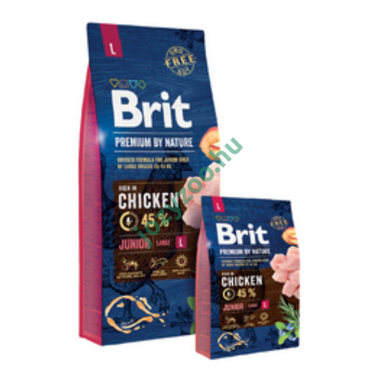 BRIT PREMIUM BY NATURE LARGE JUNIOR 3KG