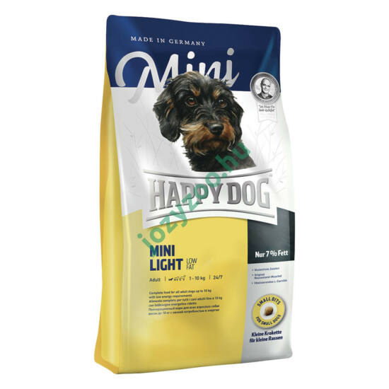 HAPPY DOG FIT & WELL MINI LIGHT LOW FAT 4KG
