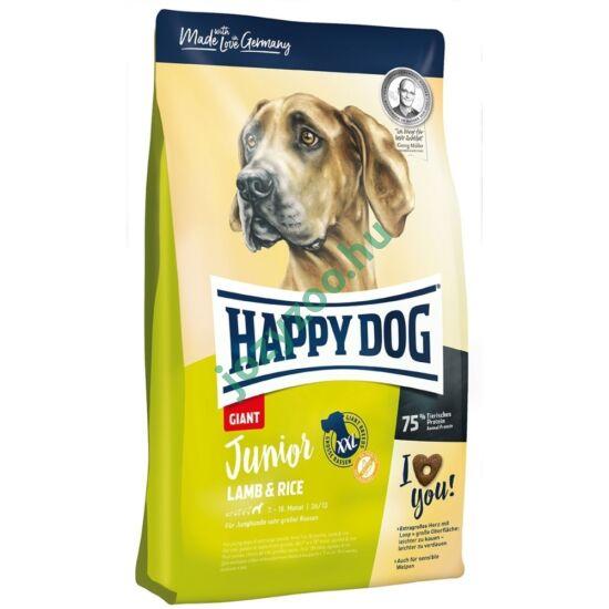 HAPPY DOG JUNIOR GIANT LAMM/REIS 15KG
