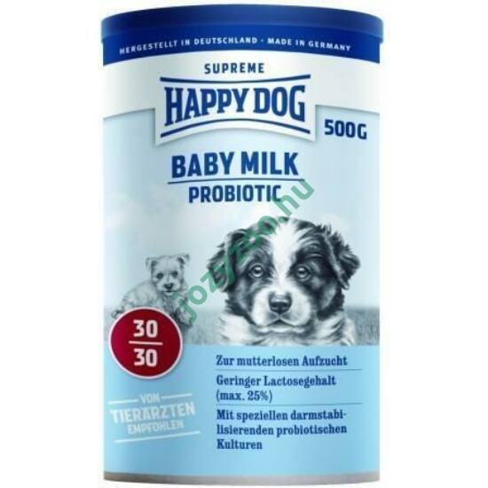 HAPPY DOG BABY MILK PROBIOTIC 500G