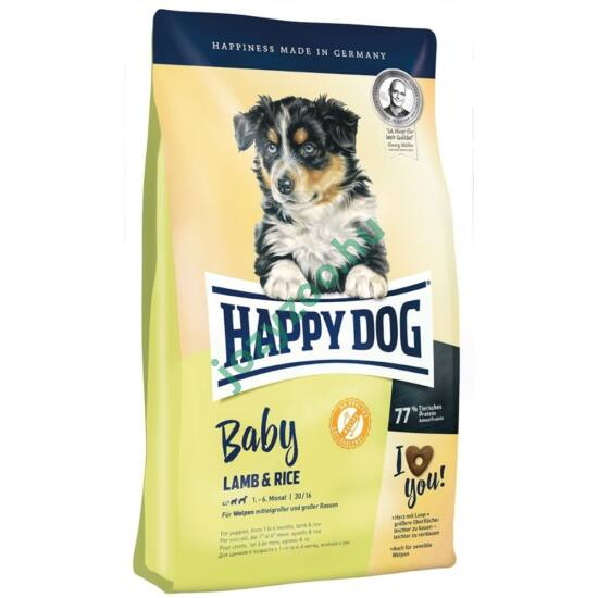 HAPPY DOG BABY LAMM/REIS 10KG