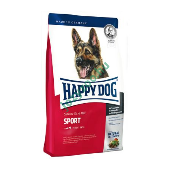 HAPPY DOG FIT & WELL ADULT SPORT 15KG