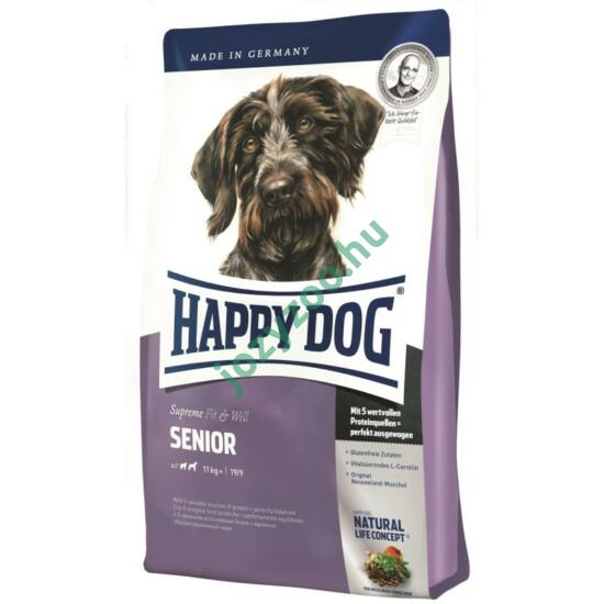 HAPPY DOG FIT & WELL SENIOR 12KG