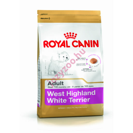 Royal Canin WEST HIGHLANDER WHITE TERRIER ADULT 0,5KG