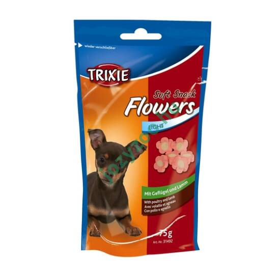 TRIXIE Jutalomfalat Flowers Báránycsirke 75gr